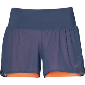 asics Cool 2-In-1 Short Femme, grand shark